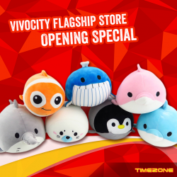 [Timezone] Come join us at our new TIMEZONE Vivocity Flagship outlet @ 02-43 (Opposite Golden Village) from 19 - 21 January to