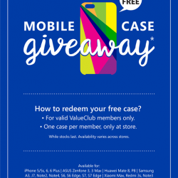 [CHALLENGER MINI] We've the perfect cure for your mid-week blues — pick up your FREE mobile case at any Challenger store!