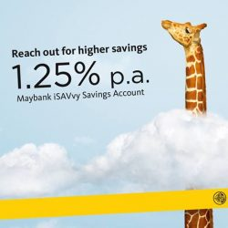 [Maybank ATM] Enjoy up to 1.