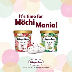 [Haagen-Dazs] Because we HDloveyousomochi, we're giving away $50 cash vouchers to 3 lucky winners!