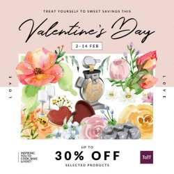 [ToTT Store] Nothing spells love quite like food – is your Valentine a cooking enthusiast?