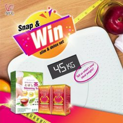[Watsons Singapore] 3 AFC SLIM & DETOX SETS UP FOR GRABS!