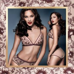 [Triumph by Ultimate Cleavage] The Graceful Jasmine collection offers a seductive fashion fit with deep plunge neckline enhances a high level of fascination.