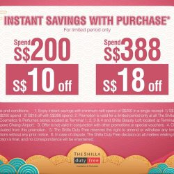 [COSMETICS & PERFUMES BY SHILLA] INSTANT SAVINGS alert.