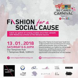 [Utopia] Join us this Saturday at Tampines Hub for the SGCares Carnival!
