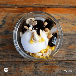 [foodpanda] What toppings do you like with your coconut icec cream?