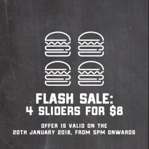 [BurgerUp] Get an adrenaline rush with FREE food, goodies and promotions galore happening on Saturday, 20 January!