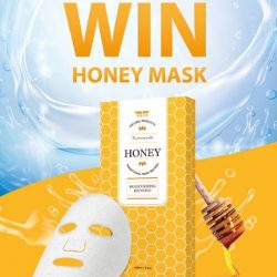 [Yummi House] Like our Facebook & Answer our simple question to WIN Honey Mask!