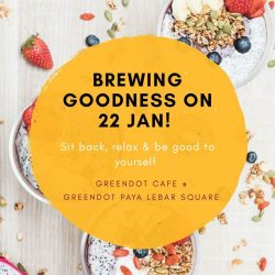 [Greendot] Save the date!