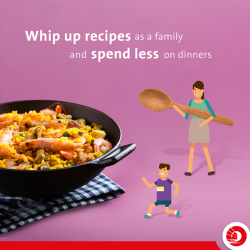 [OCBC ATM] There's an extra kick in home-cooked meals that restaurants just can't provide, so why not save some