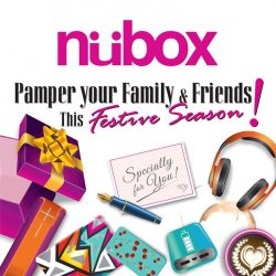 [Nübox] Pamper your family and friends with new gadgets for the New Year.