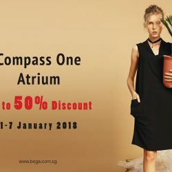 [BEGA] We are having Atrium Sale at Compass One this week, visit us to enjoy the great deal with up to