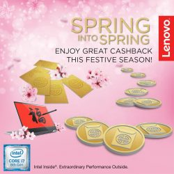 [Lenovo] Get stylish this spring with the Lenovo Yoga 720 and enjoy cashback up to $168 plus 2 years Premium Care