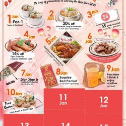 [Dian Xiao Er] Exclusive on Wednesday Specials, redeem a FREE upsize (Small to Medium; Medium to Large) when you order our new dish -