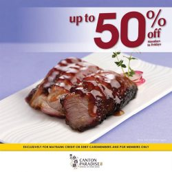 [Paradise Group] No better way to treatyoself than with discounts of up to 50% when you dine at Paradise Dynasty, Paradise Classic,