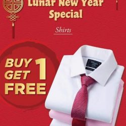 [T. M. Lewin] Lunar New Year Special Shirts @ Buy 1 Get 1 Free The perfect time to start shopping for your