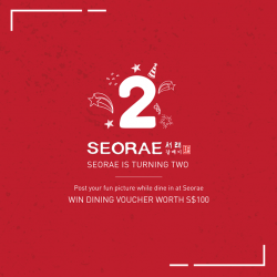 [SEORAE] Join our Photo Contest on Instagram and Win Dining Voucher worth S$100!