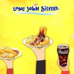 [Long John Silver's] Here's a chance to enjoy a free feast from our Long John Silver's American BBQ Extravaganza.