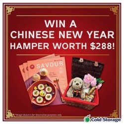 [Cold Storage] Want to impress your guests this Chinese New Year and be rewarded?