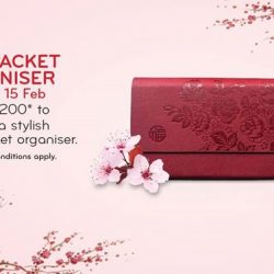 [VivoCity] From 12 Jan - 15 Feb 2018, redeem a stylish red packet organizer when you spend a min.