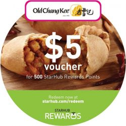 [Old Chang Kee Singapore] Calling all StarHub customers!