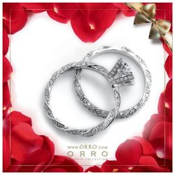 [ORRO Jewellery] A defining moment in life is to fall in love.