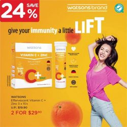 [Watsons Singapore] The year has just started, so it's a great time to keep your body healthy for all the challenges