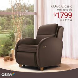 [OSIM] Our compact massage chair now comes with a compact price of $1,799 (U.