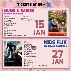 [Golden Village] Go beyond the playground and transform family time into awesome movie bonding sessions at the movies!