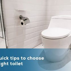 [SIM SIANG CHOON] 5 quick tips to choose the right toiletThe toilet is the central piece in any bathroom.