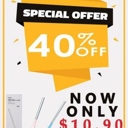[Miniso] MINISO LED Lamps on 40% DISCOUNT now!
