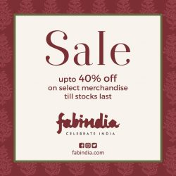 [Fabindia] Its a Sale time!