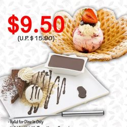 [Andersen's of Denmark Ice-Cream Singapore] Try our Happy Brownie and Hot Waffle now, both brownie and Hot Waffle are Homemade based on our traditional recipe,