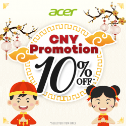 [Newstead Technologies] It's 10% OFF on Acer notebooks, PC & monitors!