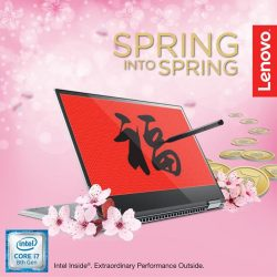 [Lenovo] Get stylish this spring with the Lenovo Yoga 720 and wherever life takes you, it'll easily go too 🌸✨And