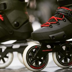 [INLINEX] TWISTER 110 3WD SKATES is a pair of game changing skates that goes faster sharper with every stride and turn