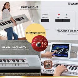 [YAMAHA MUSIC SQUARE] Experience simplicity at its best, space-saving stylish keyboard with Piaggerro NP Series.