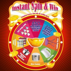 [Novena] Get your chance to SPIN & WIN with a min.
