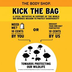 [The Body Shop Singapore] Thanks for your heartwarming response for our Kick The Bag campaign last August!