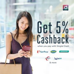 [Singtel] Shopping for your everyday essentials or paying for your taxi rides?