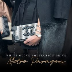 [Reebonz] SCHEDULE THIS: Collection Drive at Metro Paragon!
