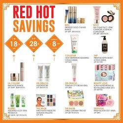 [Sasa Singapore] Beauty resolution: 72: Be beautiful for every occasions.