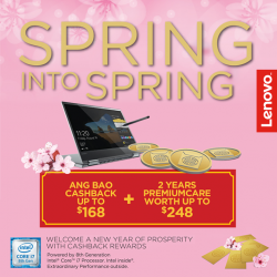[Newstead Technologies] Lenovo welcomes the new year of prosperity with cashback rewards!