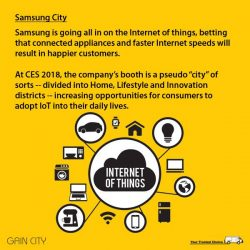 [Gain City] IN THE NEW AGE OF the Internet of Things (IoT), even the most ordinary of products will be communicating to