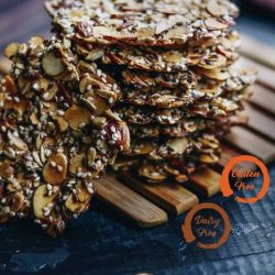[Cedele] Packed with superfood and heart-friendly ingredients, Almond & Seeds Florentine is a ideal gluten free and dairy free snack this