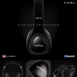 [Veho] Use code VEHO50 for 50% off of our Veho ZB-6 On-Ear Wireless Headphones 🎧 Our ZB-6 Headphones contain