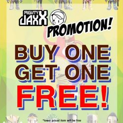 [Simply Toys] MIGHTY JAXX PROMOTION!