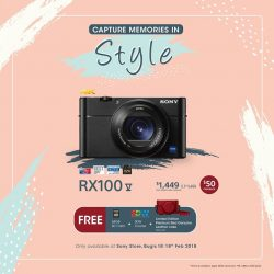 [Sony Singapore] Capture your memories in Style with RX100M5.