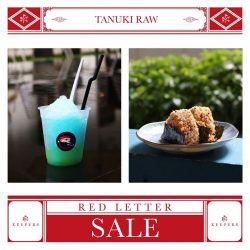 [Tanuki] Here's what we're serving up for the Keepers Red Letter Sale hosted by Keepers!