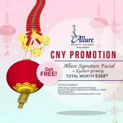 [Allure Beauty Saloon] Celebrate Chinese New Year with a stunning look!